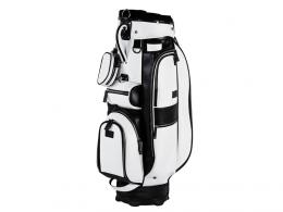 JuCad Cart bag Sydney BLACK/WHITE