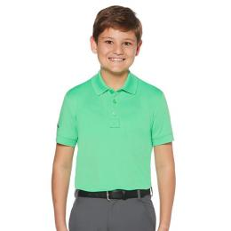 Callaway Youth Solid Polo II Irish Green velikost - S, M, L, XL