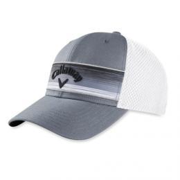 Callaway STRIPE MESH ADJUSTABLE CAP GREY - zvìtšit obrázek
