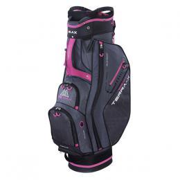 Big Max Terra X Cart Bag CHARCOAL/BLACK/FUCHSIA