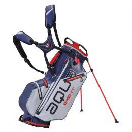 Big Max AQUA EIGHT Stand Bag SILVER/NAVY/RED