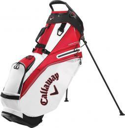 Callaway Fairway 14 Stand Bag White/Red/Black 2020 - zvìtšit obrázek
