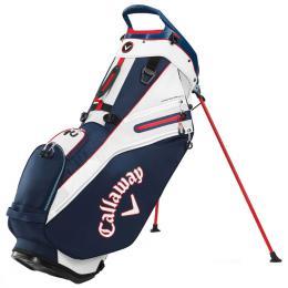 Callaway Fairway 14 Stand Bag Navy/White/Red