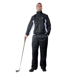 Woodworm Golf Waterproof Suit BLACK, Velikost  3XL