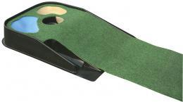 Auto return putting mat, patovací koberec