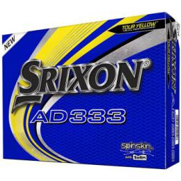 SRIXON AD333 Golf Balls 2020 YELLOW