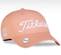 Titleist Tour Performance Ball Marker Ladies Cap Orange