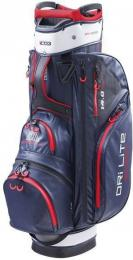 Big Max Dri Lite Sport Cart Bag Navy/Silver/Red