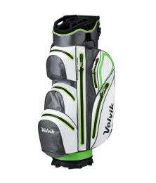 Volvik Waterproof Golf Cart Bag GREEN/WHITE/GREY
