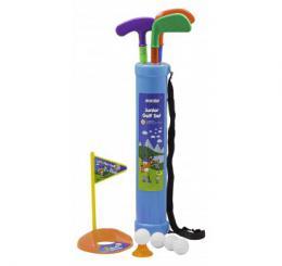 Dìtský cvièný golfový plastový set - zvìtšit obrázek