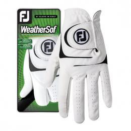 FootJoy WeatherSoft pánská WHITE, Velikost S, M, M/L, L