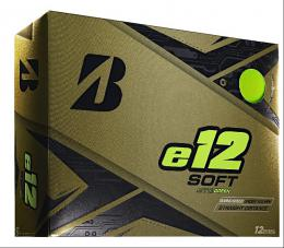 BRIDGESTONE GOLF e12 SOFT GREEN MATT Golf Balls