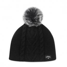 Callaway Pom Pom Beanie Ladies BLACK