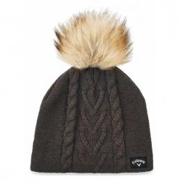 Callaway Ladies Pom PomBeanie GREY