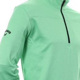 Callaway Golf Pieced Waffle Fleece IRISH GREEN velikost - S, M, L, XL, XXL, XXXL