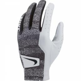 Dámská golfová rukavice Nike TECH White/Black/Wolf Grey, Velikost S, M, M/L