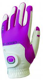 ZOOM Juniorská rukavice WHITE/FUCHSIA