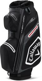 Callaway Chev Dry 14 Cart Bag Black/Charcoal 2020 - zvìtšit obrázek