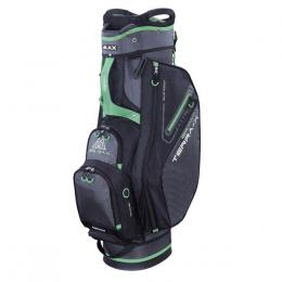 Big Max Terra X Cart Bag CHARCOAL/BLACK/LIME