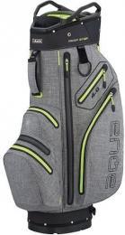 Big Max Aqua V-4 Cart Bag STORM SILVER/BLAK/LIME - zvìtšit obrázek