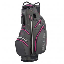 Big Max Aqua V-4 Cart Bag CHARCOAL/FUCHSIA