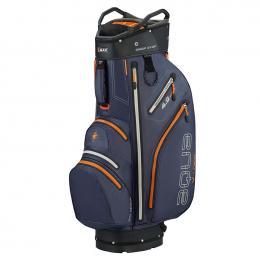 Big Max Aqua V-4 Cart Bag STEEL BLUE/BLACK/ORANGE