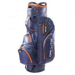 Big Max Dri Lite Sport Cart Bag STEEL BLUE/BLACK/ORANGE