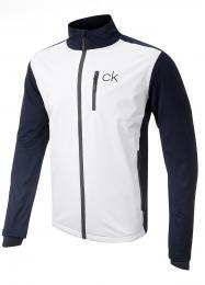 Nepromokavá bunda Calvin Klein NAVY/WHITE, velikost M, L, XXL