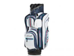 JuCad Aquastop Cart Bag BLUE/WHITE/RED