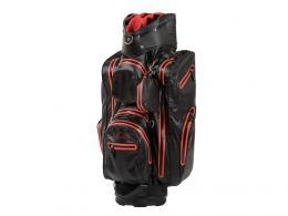 JuCad Aquastop Cart Bag BLACK/RED