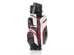 JuCad Manager Dry Cart Bag BLACK/WHITE/RED