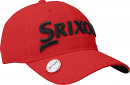 SRIXON BALL MARKER CAP Red/Navy