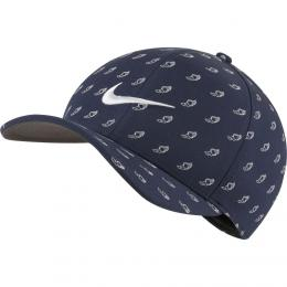 Nike Classic 99 US Open Cap Obsidian/Anthracite/White, Velikost S/M