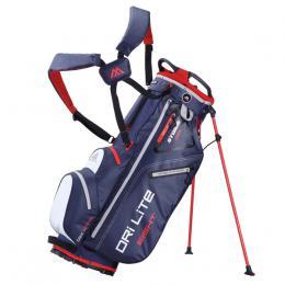 Big Max Dri Lite 8 Stand Bag NAVY/WHITE/RED