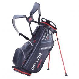 Big Max Dri Lite 8 Stand Bag BLACK/RED