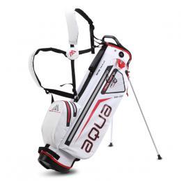 BIG MAX AQUA SEVEN STAND BAG WHITE/RED