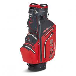 BIG MAX AQUA SPORT 3 CART BAG STEEL RED/BLACK