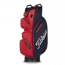 Titleist StaDry Cart Bag 14 NAVY/RED 2021