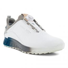 ECCO M GOLF S-THREE BOA pánské golfové boty WHITE/SEAPORT, velikost 40, 41, 42, 43, 44, 45, 46 - zvìtšit obrázek