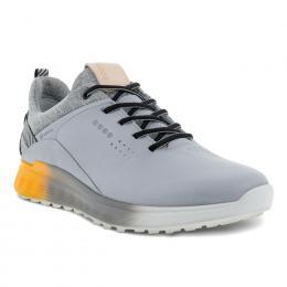 ECCO M GOLF S-THREE pánské golfové boty SILVER/GREY, velikost 41, 42, 43, 44, 45