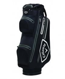 Callaway Chev 14 Dry Cart Bag 2021 BLACK/WHITE/CHARCOAL