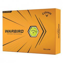 Callaway Warbird 2021 Golf Balls YELLOW - zvìtšit obrázek