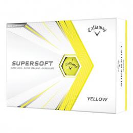 Callaway Supersoft YELLOW 2021 golfové míèky