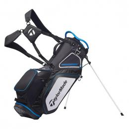 TaylorMade Pro 8.0 Stand Bag BLACK/WHITE/BLUE