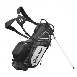 TaylorMade Pro 8.0 Stand Bag BLACK/WHITE/CHARCOAL