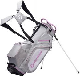TaylorMade Pro 8.0 Stand Bag GREY/WHITE/PURPLE