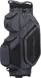 TaylorMade Pro 8.0 Cart Bag CHARCOAL/BLACK
