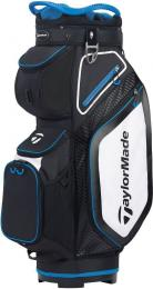 TaylorMade Pro 8.0 Cart Bag BLACK/WHITE/BLUE