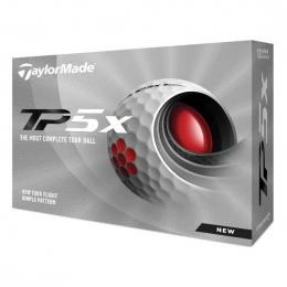 TaylorMade TP5x 2021 golfové míèky WHITE
