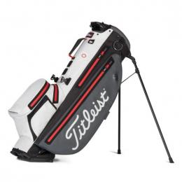 Titleist Players 4+ StaDry Stand Bag CHARCOAL/WHITE/RED 2021